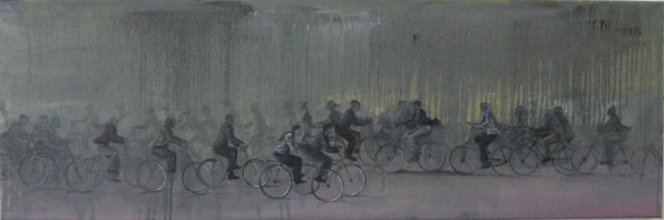 Ndikhumbule Ngqinambi  | Cycling in the rain, 2011
