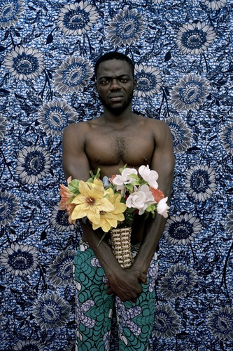 Leonce Raphael Agbodjelou | Untitled (Musclemen series, 2012)