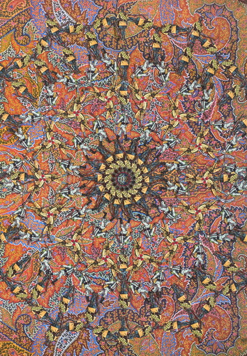 Isabel Ferrand | Paisley orange, 2010