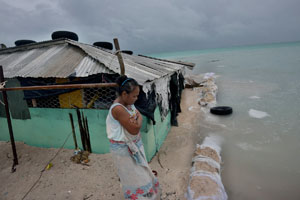 Kadir van Lohuizen | Climate change / sea-level rise in Kiribati, 2012