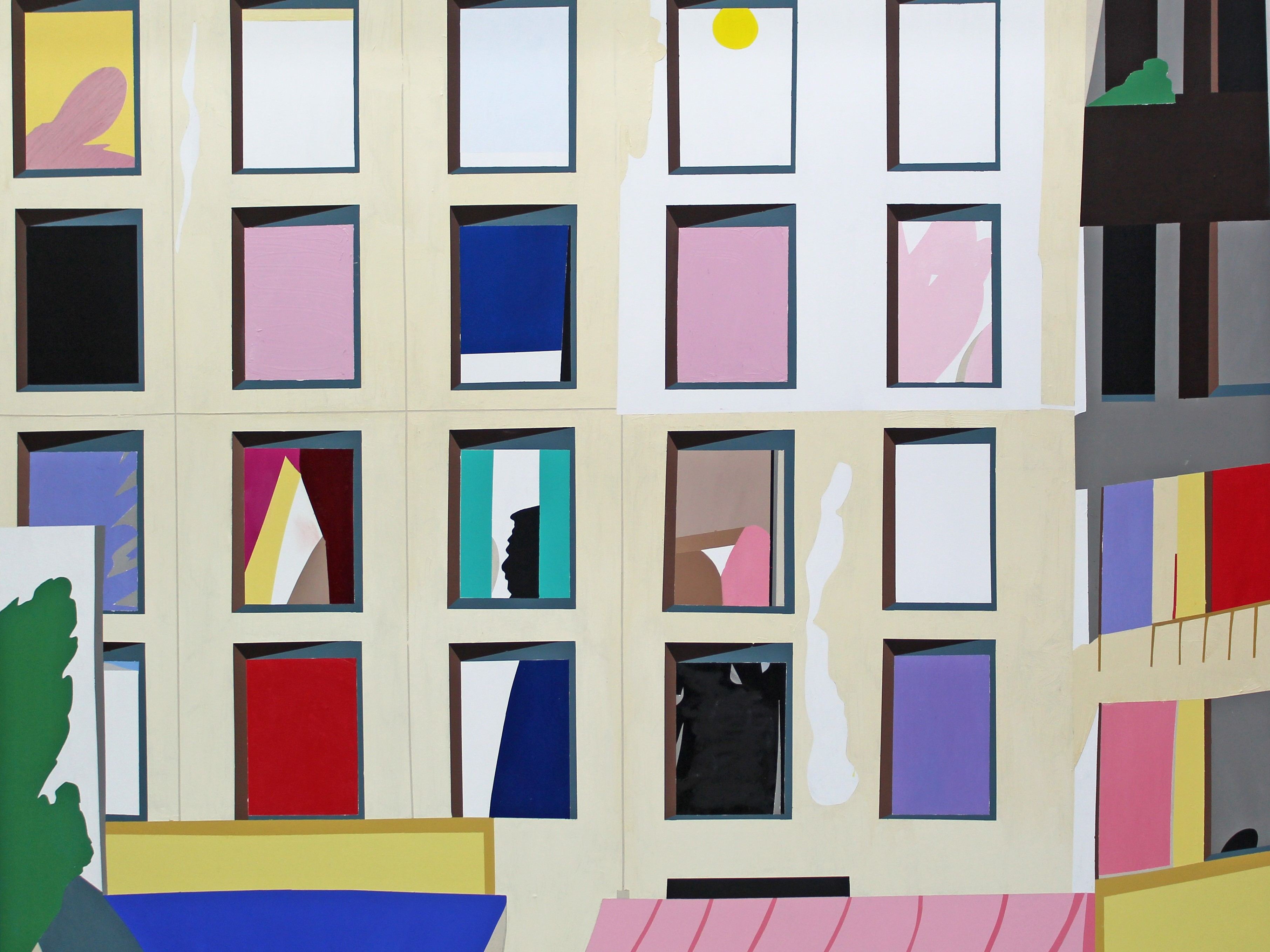Jouni Toni | Apartment block, 2018